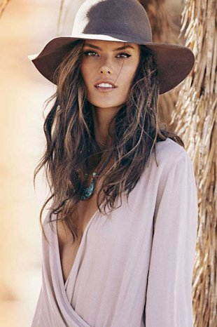 Courtesy ale by Alessandra Ambrosio