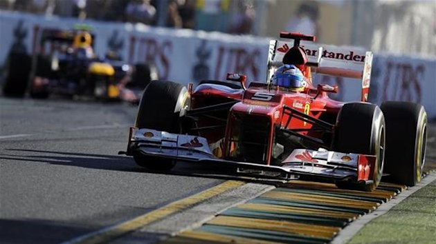 Fernando Alonso at the Australian Grand Prix
