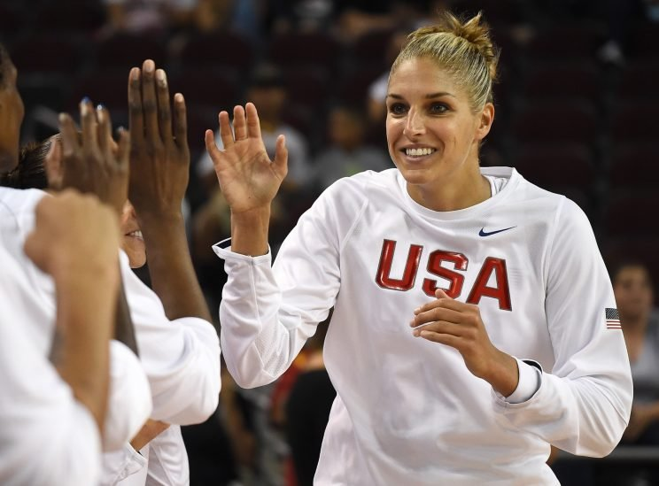 Both a WNBA and Olympic star, Delle Donne has been a vocal advocate for LGBT rights. She will publicly come out in a profile with Vogue this month, according to OutSports. (Getty)