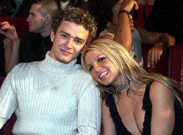 Justin Timberlake and Britney Spears 2000 MTV Video Music Awards New York City, NY - 7/29/2000