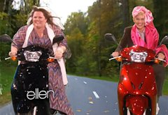 Melissa McCarthy and Ellen DeGeneres | Photo Credits: Ellen Show