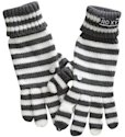 Roxy striped gloves, $24.00.