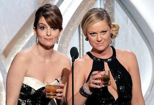 Tina Fey and Amy Poehler | Photo Credits: Paul Drinkwater/NBCUniversal