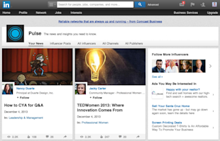 LinkedIn Goes All in With Content image Screen Shot 2013 12 05 at 1.12.23 AM