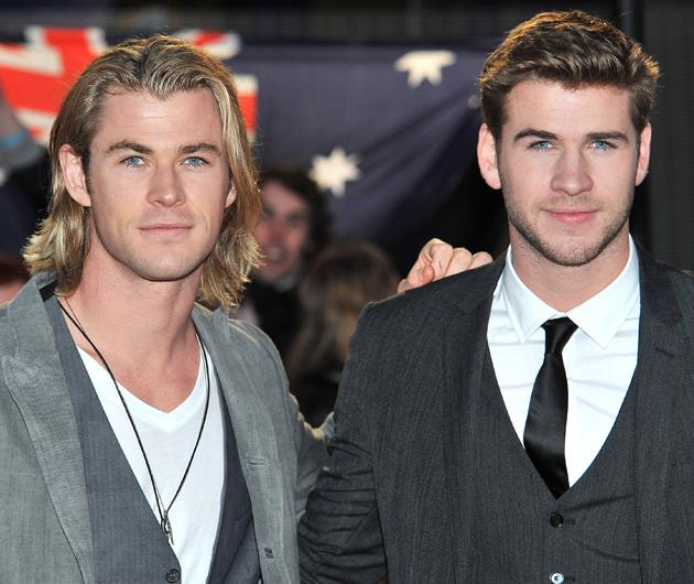 Chris Hemsworth and Liam Hemsworth photos: Ah! Perfectness personified, meet the Hemsworth brothers. Copyright [Getty]