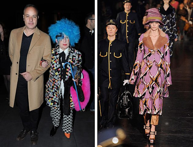 Katie Grand Reveals How Anna Piaggi's Eccentric Style Inspired Louis Vuitton's Collection: EXCLUSIVE