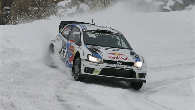 Sweden Rally - Latvala heads Mikkelsen in Sweden