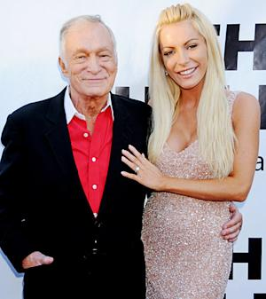 Hugh Hefner, Crystal Harris Obtain Marriage License