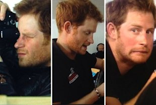 Prince Harry is growing a beard in the Arctic