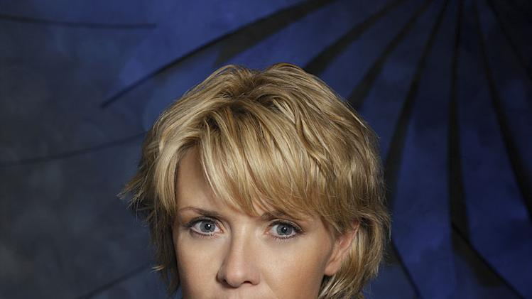 Amanda Tapping stars as Samantha Carter in Stargate SG1.