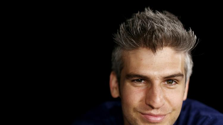 "In this Thursday, June 13, 2013 photo, Max Joseph, host of MTV's series ""Catfish: The TV Show,""poses for a portrait in Los Angeles. The show's second season premieres Tuesday, June 25, 2013. (Photo by Matt Sayles/Invision/AP)"