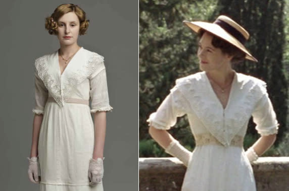 "Lady Edith vs. ""A Room With a View"""