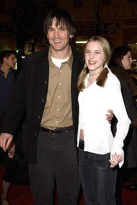 Premiere: Bill Campbell and Evan Rachel Wood at the Hollywood premiere of A Walk To Remember - 1/23/2002