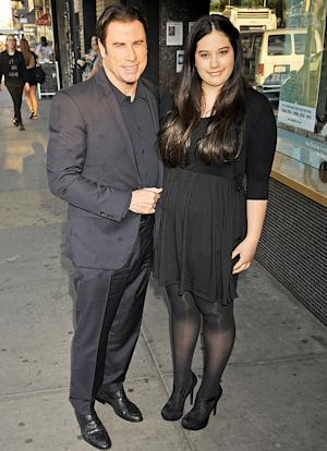Ella Bleu Travolta Joins Dad John Travolta at Killing Season Premiere
