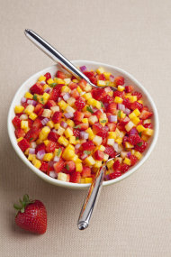 Strawberry Salsa (Courtesy California Strawberry Commission)