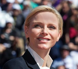 Princess Charlene of Monacco Debuts a New Pixie Crop in Monte Carlo