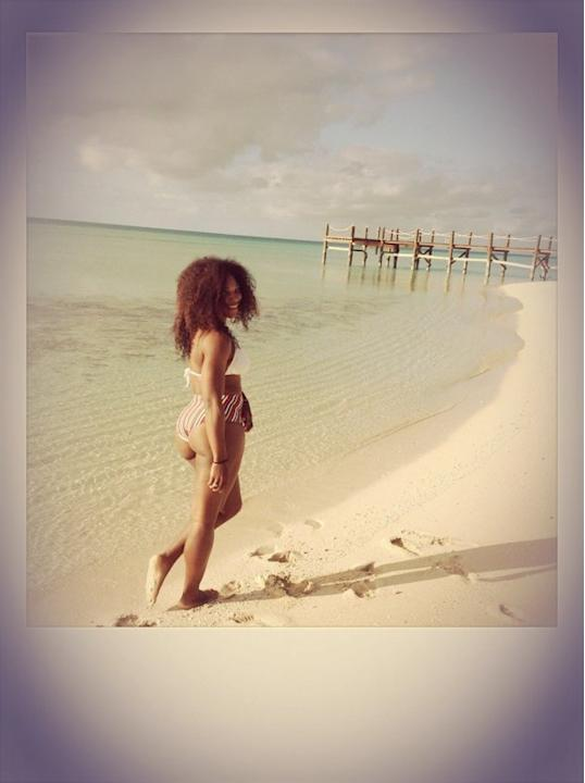 Serena Williams bikini Bahamas