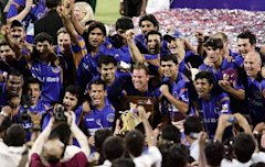 Rajasthan Royals Win Indian Premire League Season 1