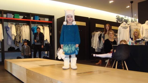 Harlow on the runway -- Access Hollywood