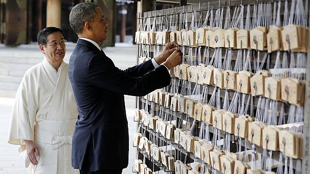 Obama – Asia tour: US 'commitment to Japan's security is absolute'