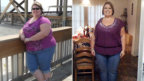 Inspired by Chris Powell, Woman Loses 130 Lbs | ABC News ...
