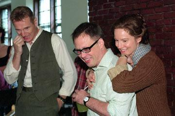 Liam Neeson , director Bill Condon and Laura Linney in Fox Searchlight's Kinsey