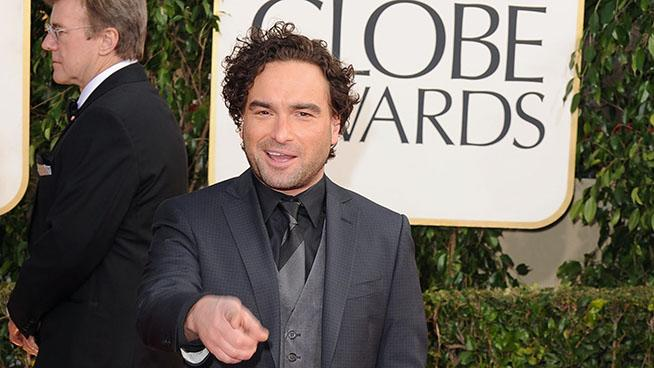 70th Annual Golden Globe Awards - Arrivals: Johnny Galecki