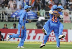 The current Indian side comprising of Suresh Raina, Virat Kohli and Rohit Sharma