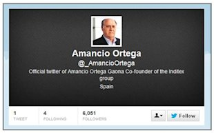 How The Fourth Richest Person On The Planet Goofed At Twitter image Amancio Ortega Twitter 06 13