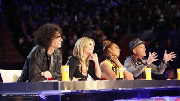 Howard Stern, Heidi Klum, Mel B. and Howie Mandel judge contestants for 'America's Got Talent' -- NBC