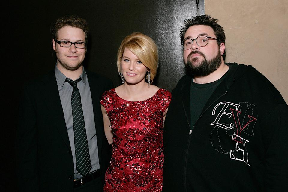 Zack and Miri Make a Porno LA Premiere 2008 Seth Rogen Elizabeth Banks Kevin Smith