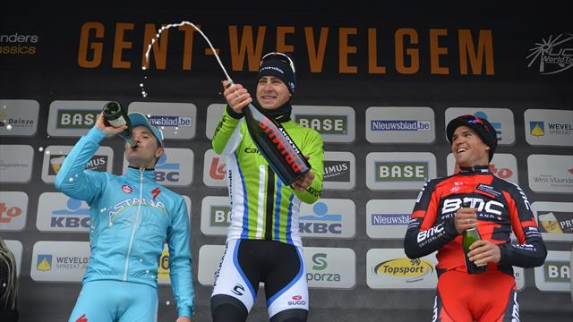 Cycling - Sensational Sagan wins Gent-Wevelgem