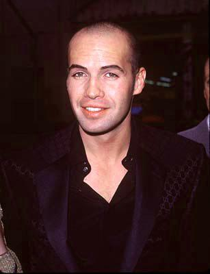Billy Zane at the premiere of Paramount's Titanic