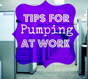 5 tips for using your breast pump at work