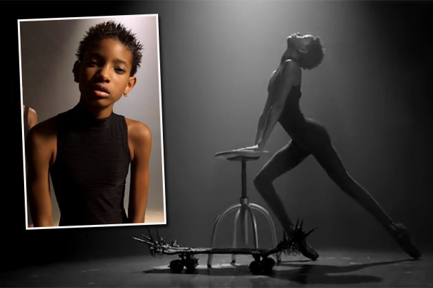 Willow Smith räkelt sich lasziv im Video von Hallbruder Trey a.k.a. AcE (Screenshots: DailyMotion)