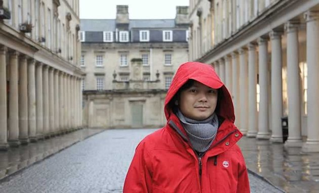 Dennis Chew went to London for the first time last year (Photo courtesy of Dennis Chew)