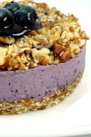 raw vegan cheesecake recipe (vegan and vegetarian recipes for the fourth of july)