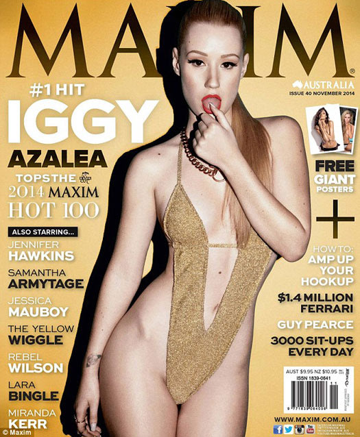 Why Is Iggy Azalea Mad About This Super-Sexy 'Maxim' Cover?