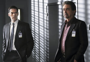 Thomas Gibson, Joe Mantegna | Photo Credits: Monty Brinton/CBS