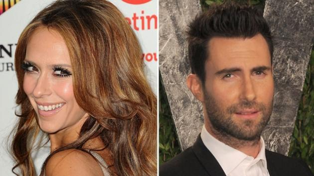 Jennifer Love Hewitt / Adam Levine -- Getty Images