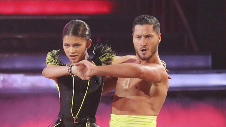 Zendaya and Val Chmerkovskiy (4/22/13)