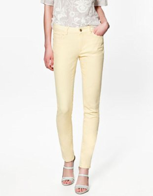 Colored Skinny Jeans from Zara