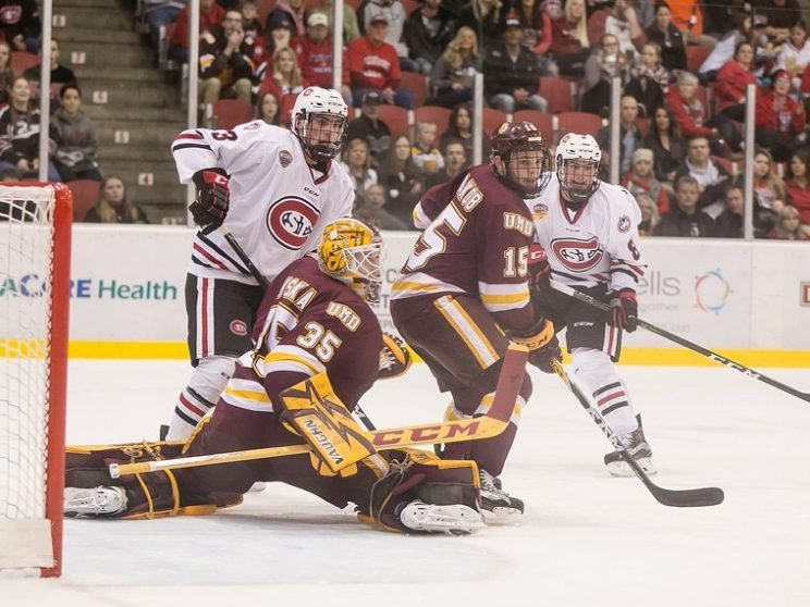 Minnesota-Duluth photo from school Twitter account.