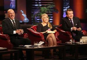 Kevin O'Leary, Lori Grenier, Robert Herjavec | Photo Credits: Adam Taylor/ABC