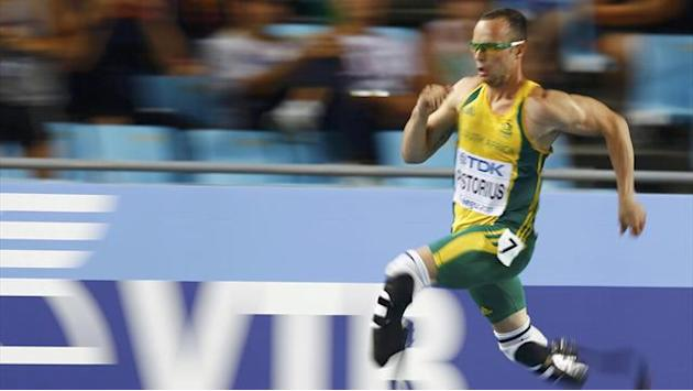 Pistorius can run any leg of relay