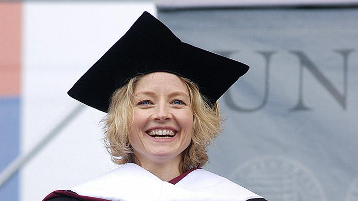 Jodie Foster Speaks At Commencement At University Of Pennsylvania