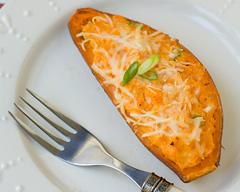 Twice-Baked Sweet Potato