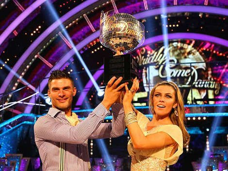 Abbey Clancy won 'Strictly Come Dancing' 2013. Copyright [BBC]