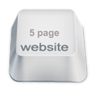 Elements of a 5 Page Business Website image website icon