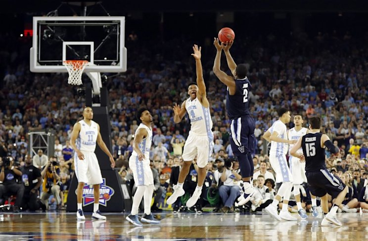 To nobody's surprise, Kris Jenkins and Villanova are No. 1 on this list (AP)